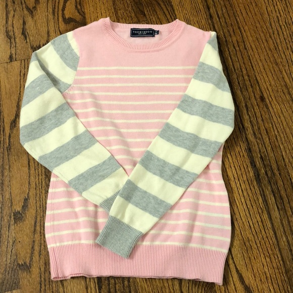 Toobydoo Other - Tooby Doo girls striped sweater